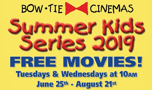 Bow Tie Cinemas Summer Kids Series free movies