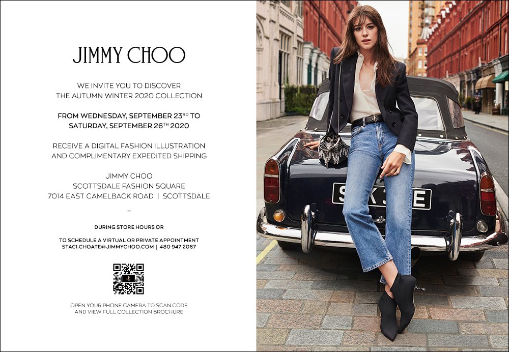We invite you to discover the Autumn Winter 2020 Collection from Wednesday, September 23 to Saturday, September 26. 