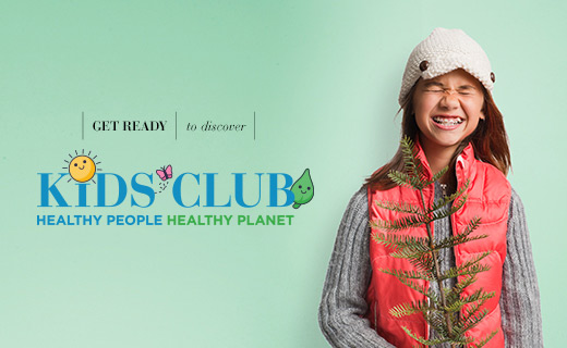 Get ready to discover Kids Club Healthy people, healthy planet
