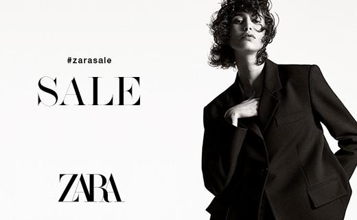 Copy: #zarasale SALE Zara Image: Woman wearing black suit