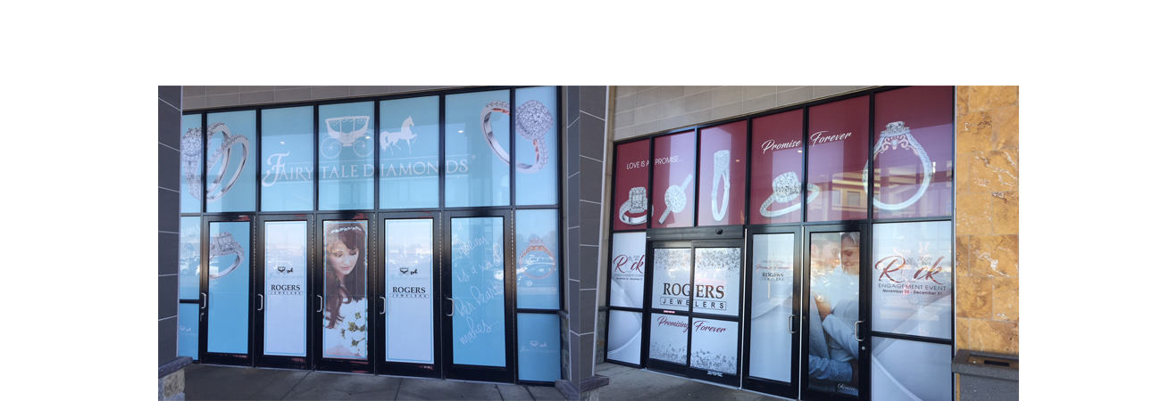 Eastland Mall Front Entrance Wrap