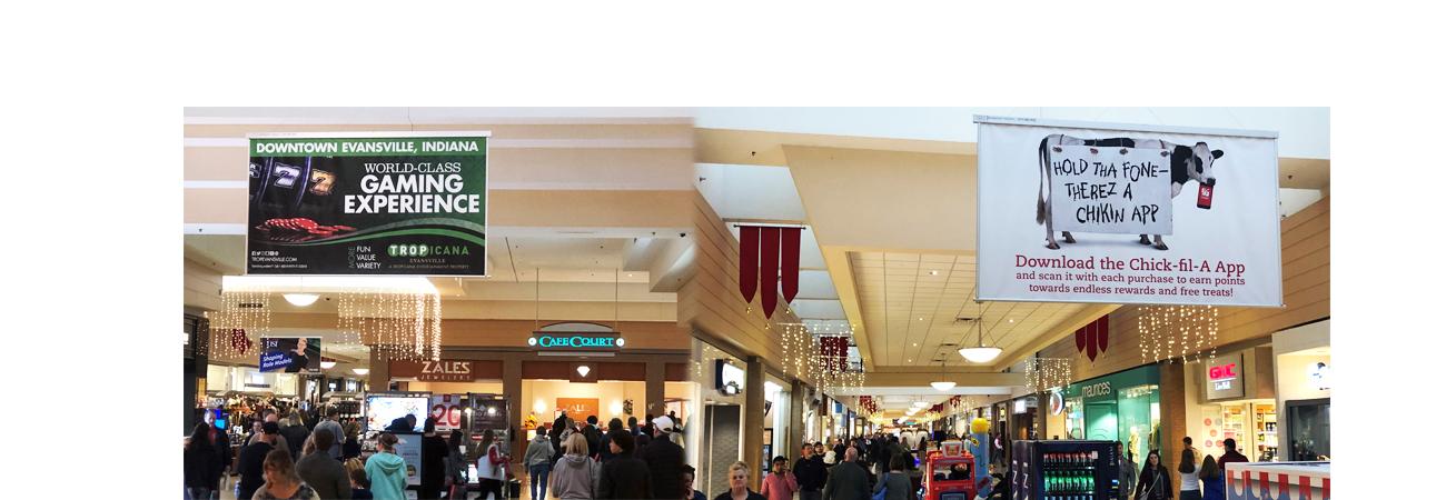 Eastland Mall's Sky Banner Network