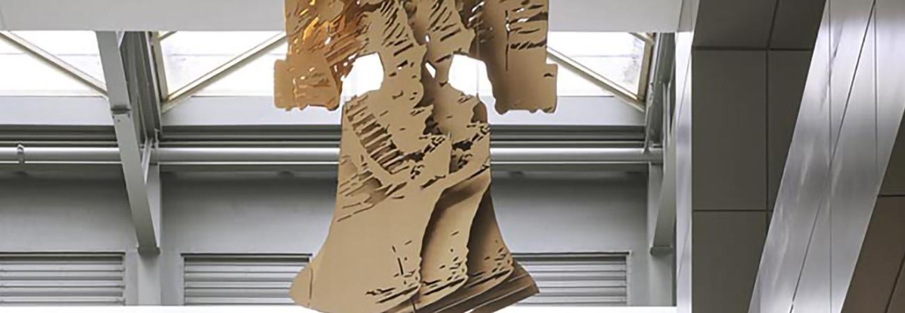 Michael Murphy's art installation at Fashion District Philadelphia