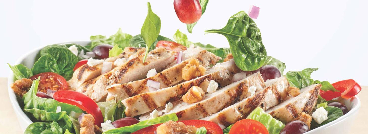 LifeCafe salad closeup