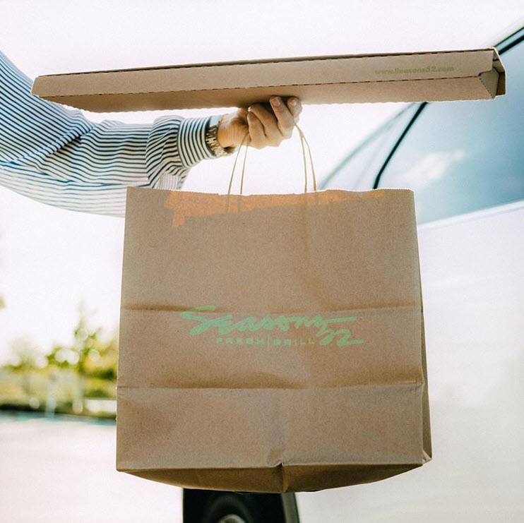 Seasons 52 takeout bag