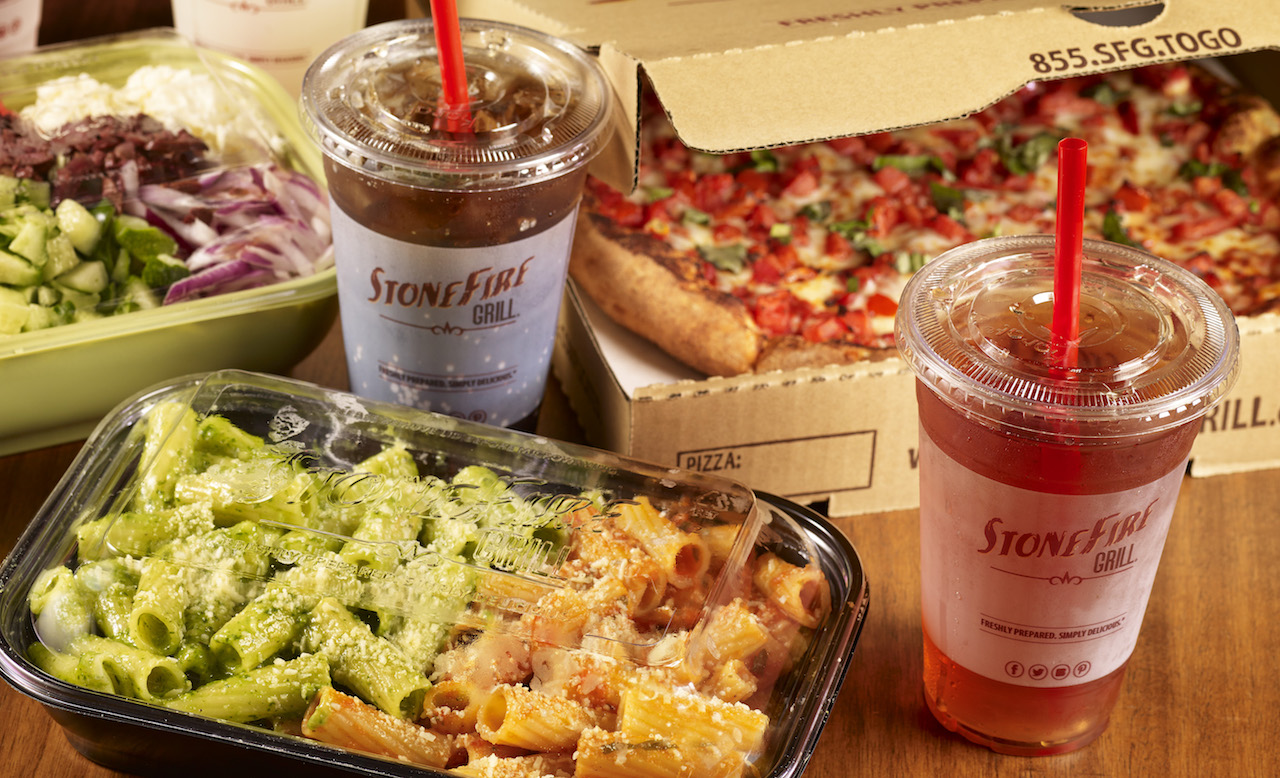 Stonefire grill to-go