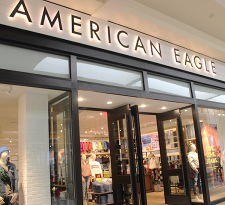 American Eagle store at The Oaks
