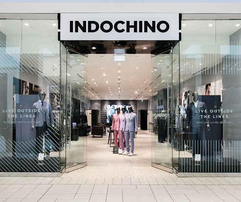 Indochino storefront entrance