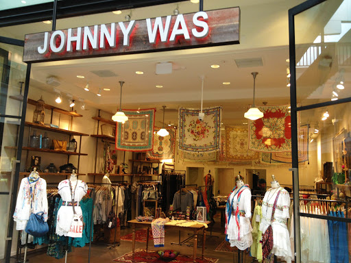 Johnny Was storefront entrance
