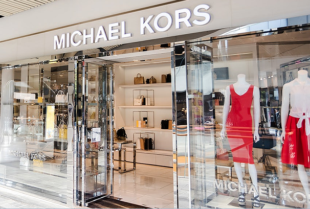 Michael Kors storefront entrance
