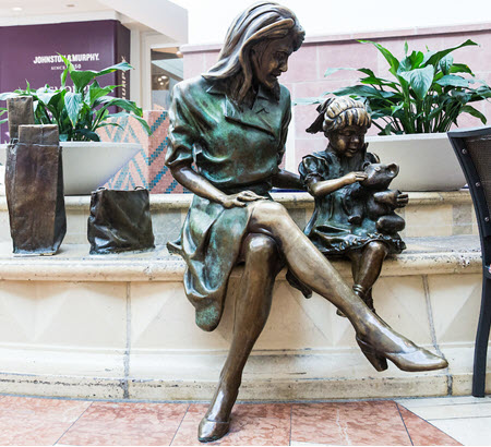 Marc D'Ambrosi - Mother and Child Sculpture