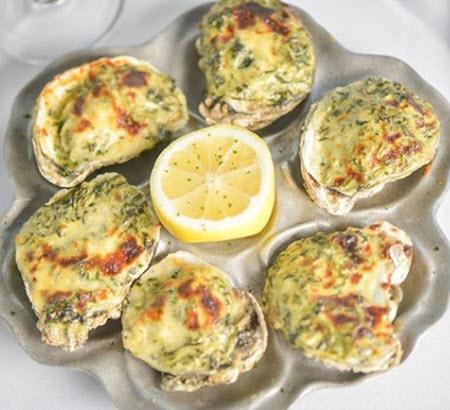 Rockefeller Styler Oysters