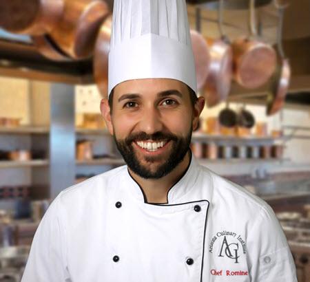 Chef Tyler Romine head shot