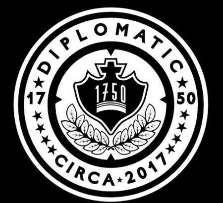 Diplomatic 1750 black logo