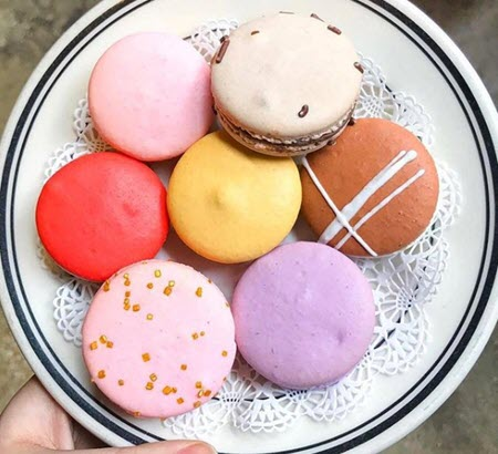 Photo of assorted macaroons