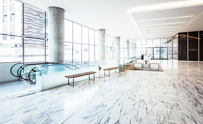 Lobby of Tysons Tower