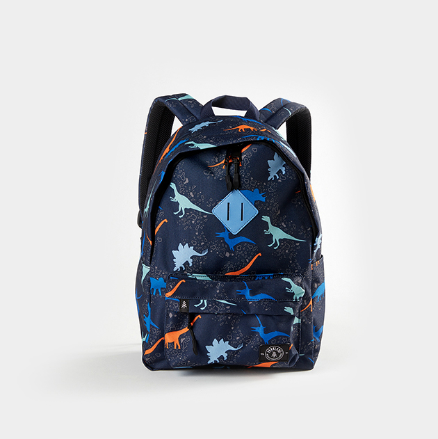 kids backpack with dinosaurs