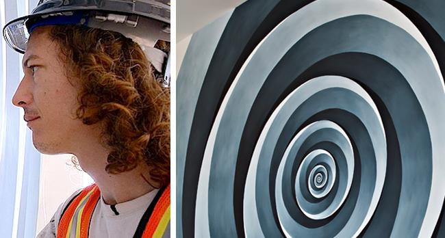 Bhakti Baxter | Circle Spiral (Relax Your Gaze), 2013