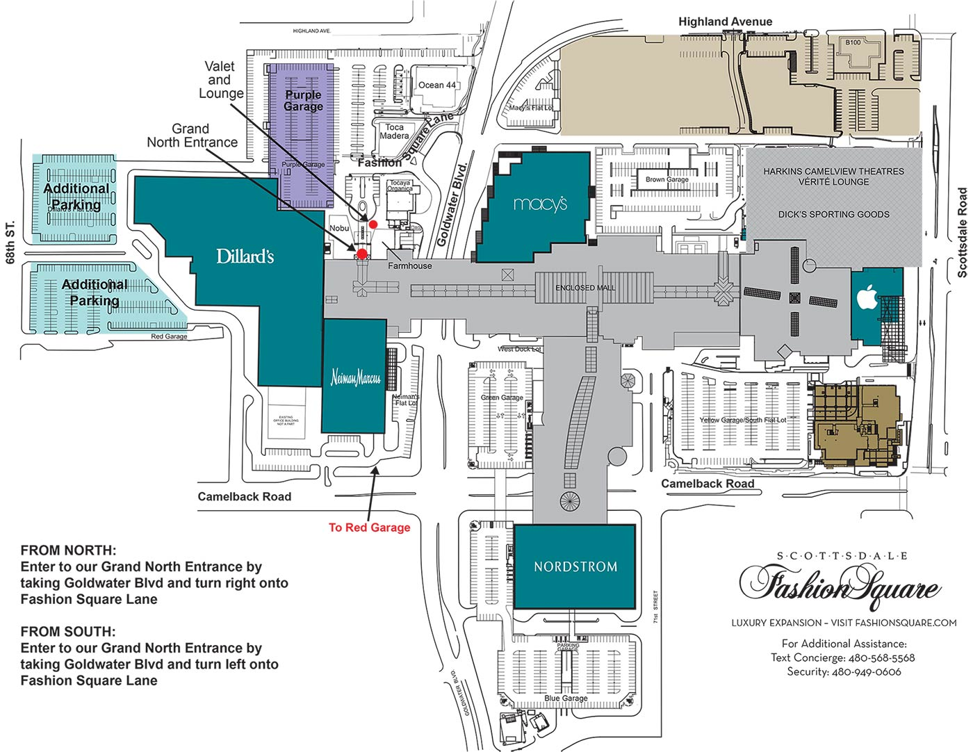 Shopping Malls Hotels Near Scottsdale Fashion Square