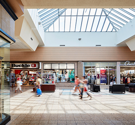 Image of Eastland Mall's interior