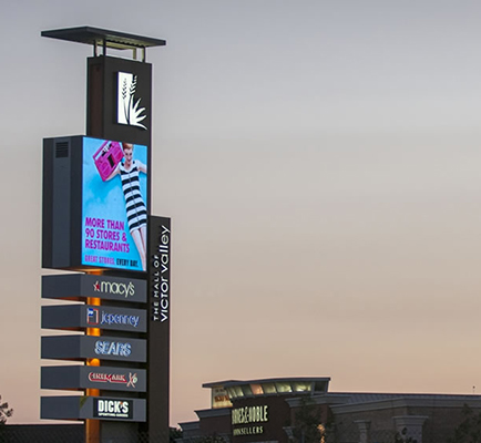 Image of The Mall of Victor Valley's sign and exterior