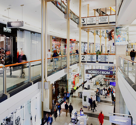 The Shops at North Bridge's interior