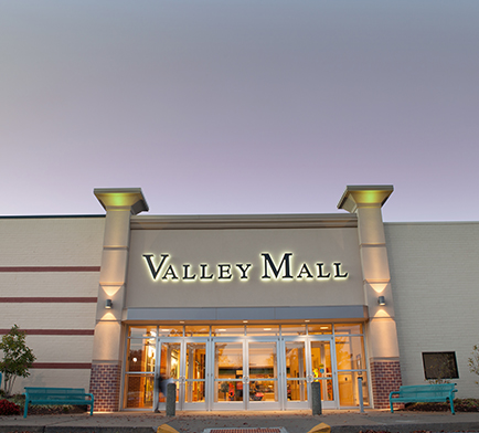Image of Valley Mall's exterior