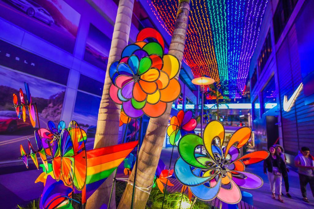 Santa Monica Place Pride June 2021