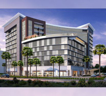 Rendering of Caesars Republic hotel