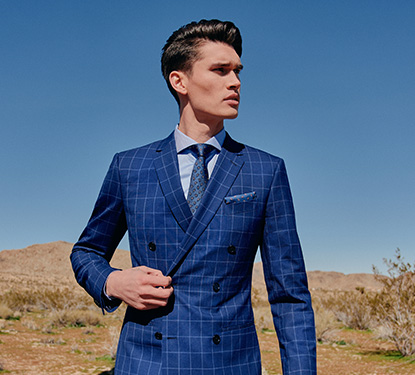 Image of young man in Indochino suit
