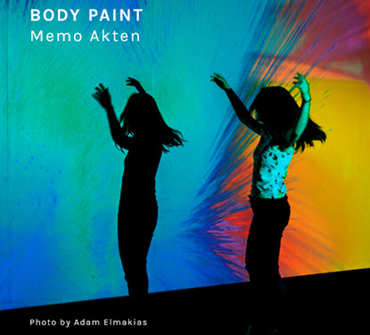 Image of Art Installation Body Paint by Memo Akten