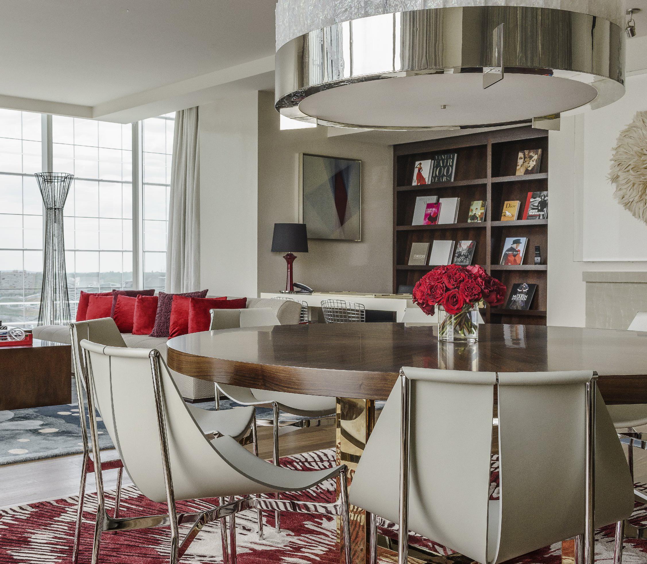 Presidential Suite at the Hyatt Regency