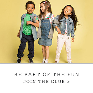 Kids Club. Be Part of the Fun. Join the Club.