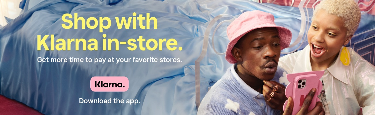 Shop with Klarna in-store. Get more time to pay at your favorite stores. Klarna. Download the app.