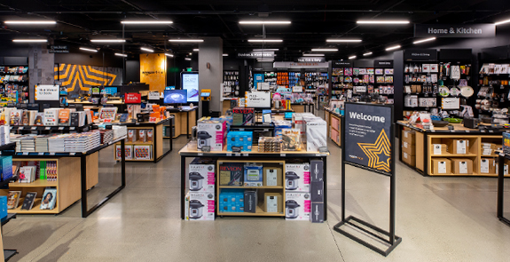 Image of the Amazon 4-Star store interior
