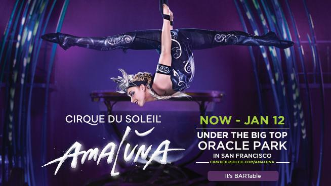 Image of Cirque de Soleil Amaluna flyer