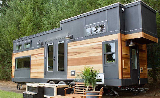 Image of b8ta/Google tiny house