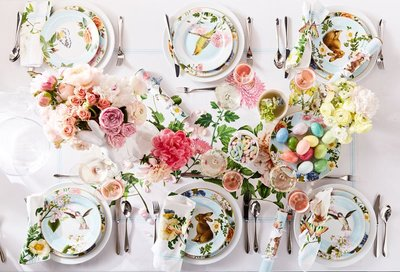 Image of Easter table setting