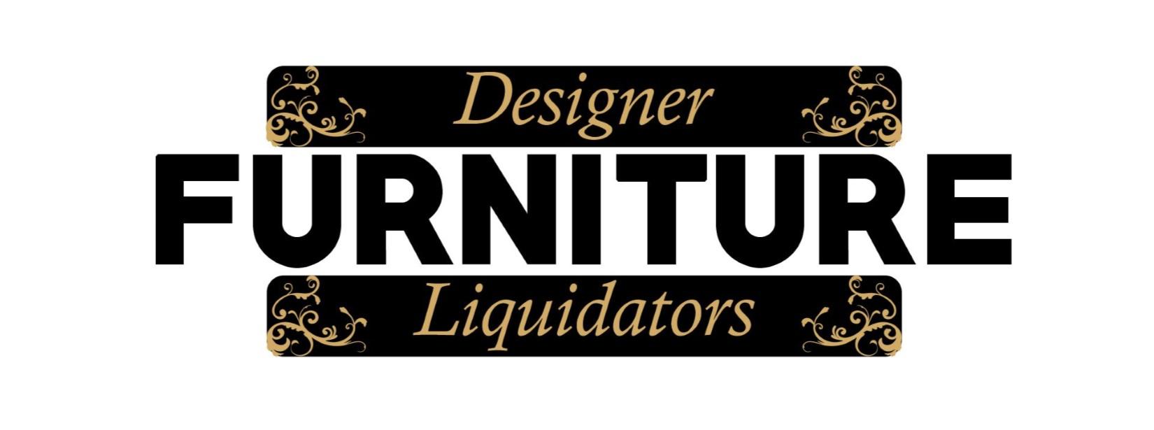 designer furniture liquidators logo