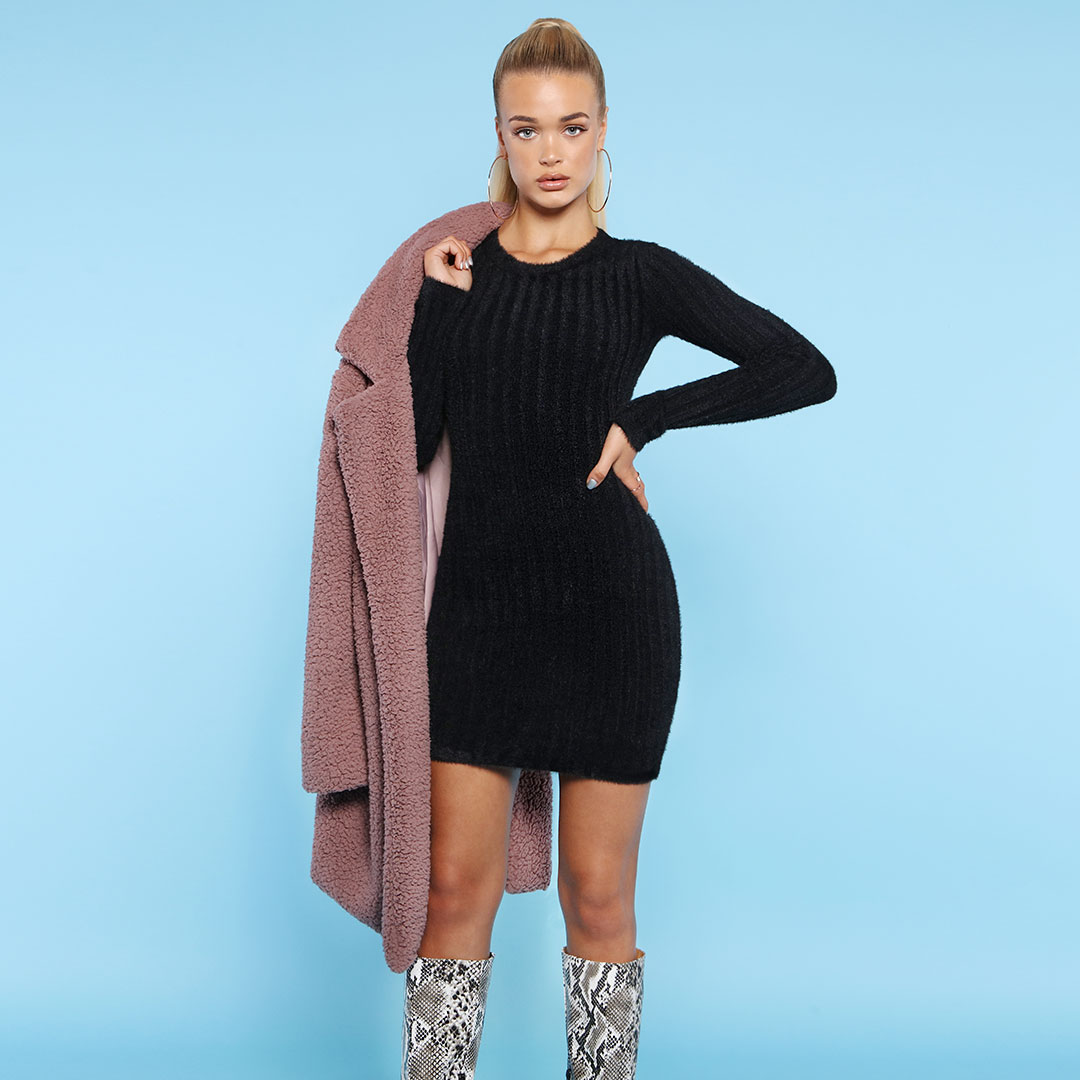girl displaying jacket