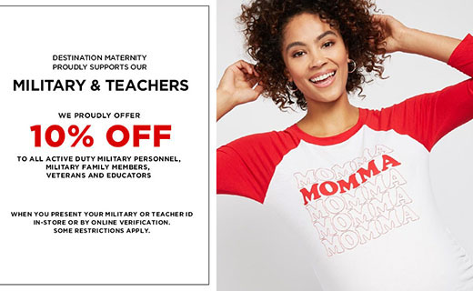 Woman in a tshirt that says Momma