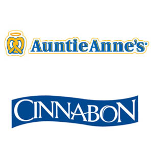 Auntie Anne's and Cinnabon Logo