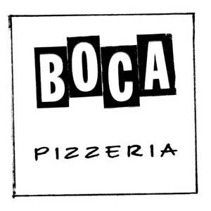 Boca Pizzeria Logo