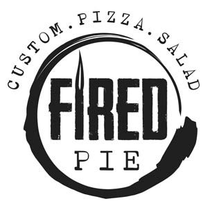 Fired Pie Custom. Pizza. Salad