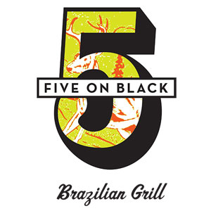FIVE ON BLACK Logo