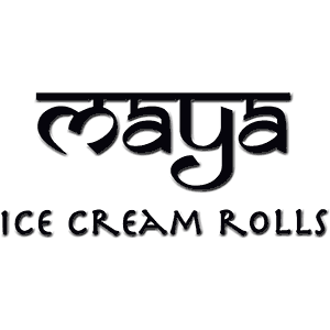 Maya Ice Cream Rolls Logo
