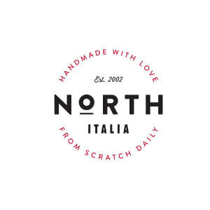 North Italia Est. 2002, Handmade with Love From Scratch Daily