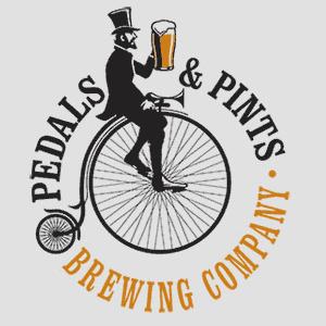 Pedals & Pints Logo