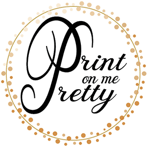 Print On Me Pretty Logo
