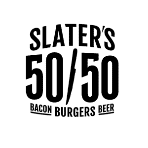 Slaters 50-50 Bacon, Burgers, Beer